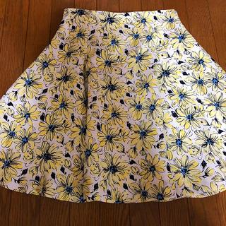 トランテアンソンドゥモード(31 Sons de mode)のトランテアン 花柄 スカート(ミニスカート)