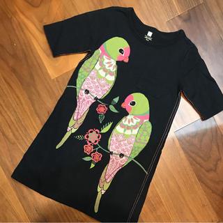 ジンボリー(GYMBOREE)のTea Collection ワンピース 鳥さん サイズ6(ワンピース)