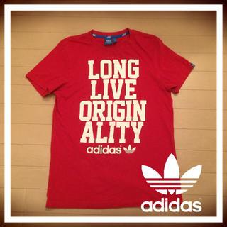 アディダス(adidas)の【美品】Tシャツ adidas(Tシャツ/カットソー(半袖/袖なし))
