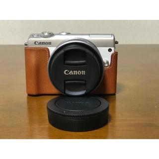 キヤノン(Canon)のCanon ミラーレス一眼 EOS M100 ホワイト(ミラーレス一眼)