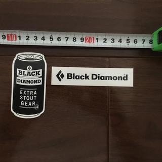 ブラックダイヤモンド(Black Diamond)のステッカー ブラックダイアモンド シール 新品未使用(シール)