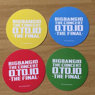 ビッグバン(BIGBANG)のBIGBANG  コースター 4枚セット(その他)