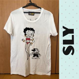 スライ(SLY)のスライ×ベティちゃんコラボTシャツ(Tシャツ(半袖/袖なし))