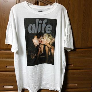 エーライフ(ALIFE)のエーライフ alife tシャツ tee フォトt シャツ キャップ パンツ L(Tシャツ/カットソー(半袖/袖なし))