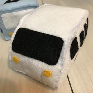 オーダー受付中‼️ハンドメイド  フェルト 新幹線(おもちゃ/雑貨)