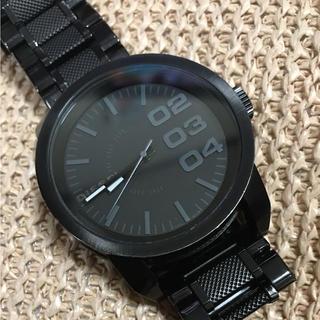 ディーゼル(DIESEL)の美品 ディーゼル ビックフェイス(腕時計(アナログ))