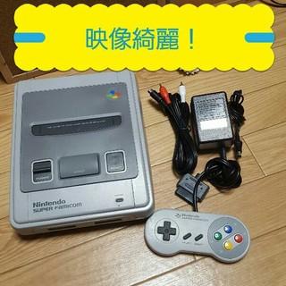 スーパーファミコン - 映像綺麗 スーパーファミコンセット
