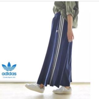 アディダス(adidas)のadidas ♡L♡ BEAUTY&YOUTH ロングスカート(ロングスカート)