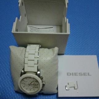 ディーゼル(DIESEL)のDISEL 腕時計   箱、説明書 付(腕時計(アナログ))