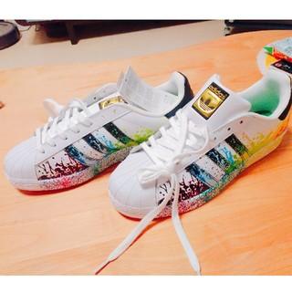 アディダス(adidas)の【限定モデル】ADIDAS SUPERSTAR PRIDE WHITE 28cm(スニーカー)