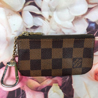 LOUIS VUITTON - ✨美品 ルイヴィトン ダミエ ポシェットクレ コインケース 正規品 鑑定済み✨