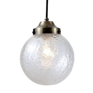 訳あり20%OFF ガラスペンダントライト/吊り下げ型照明器具 P200ヒビ