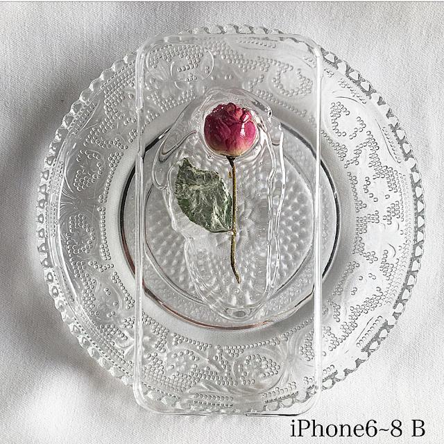 iPhone6~8 B ハンドメイドのスマホケース/アクセサリー(スマホケース)の商品写真