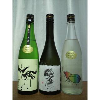 仙禽 麗 うらら 袋しぼり・斗瓶囲い・無ろ過原酒 720ml詰 18.5.(日本酒)