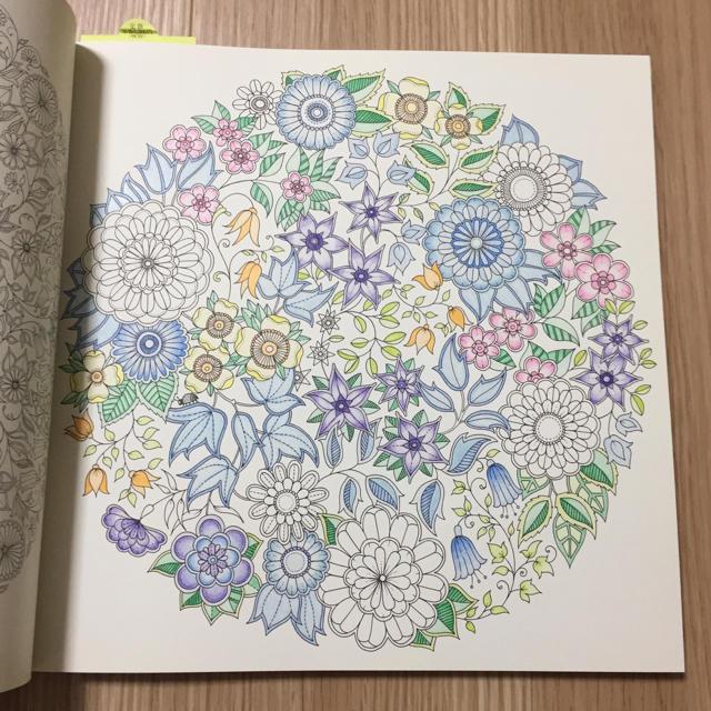 大人のぬりえ ひみつの花園の通販 By Sayushopラクマ
