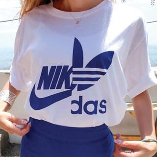 アディダス(adidas)の早い者勝ち‼️ナイキ アディダス ビッグロゴ Tシャツ(Tシャツ/カットソー(半袖/袖なし))