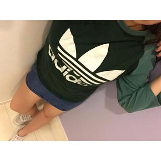 アディダス(adidas)の値下げ交渉あり‼️アディダスオリジナルス 90s ビッグロゴ ラグランTシャツ(Tシャツ/カットソー(半袖/袖なし))