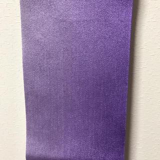 紫の浴衣帯(浴衣帯)