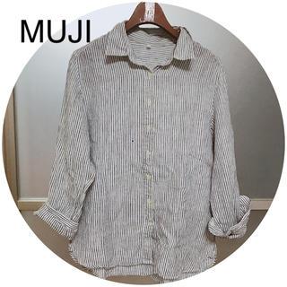 ムジルシリョウヒン(MUJI (無印良品))のMUJI//フレンチリネンシャツ(シャツ/ブラウス(長袖/七分))