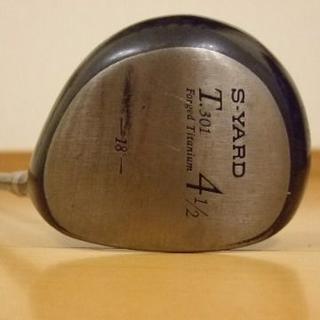 エスヤード(S-YARD)のエスヤード T301 4番ウッド フレックスR1 42インチ 18度(クラブ)