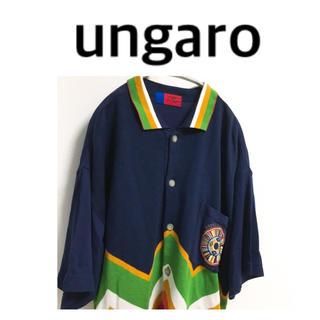 エマニュエルウンガロ(emanuel ungaro)のウンガロ ungaro オム サマーニット サマーセーター オーバーサイズ(Tシャツ/カットソー(半袖/袖なし))