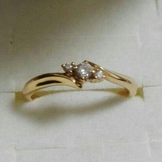 18金ダイヤモンド指輪(リング(指輪))