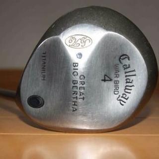 キャロウェイゴルフ(Callaway Golf)の グレートビッグバーサ 4番 Rシャフト 43インチ ロフト角 15.25度(クラブ)