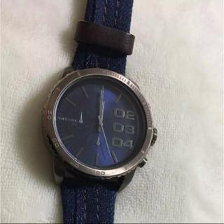ディーゼル(DIESEL)のディーゼル 時計 デニム(腕時計(アナログ))