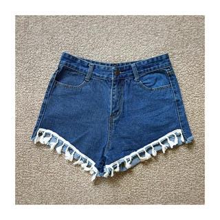 アナップ(ANAP)のANAP ladies denim pants(ショートパンツ)