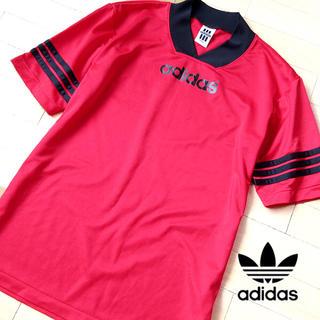 アディダス(adidas)の超美品 O-XO アディダス 80's デサントタグ ヴィンテージTシャツ(Tシャツ/カットソー(半袖/袖なし))