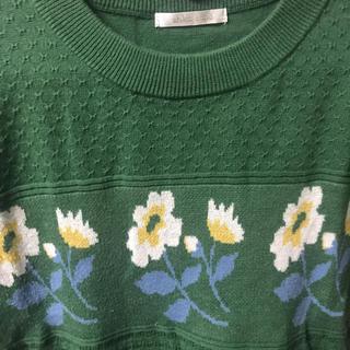 エヘカソポ(ehka sopo)のehka sopo ニット トップス Tシャツ(Tシャツ(半袖/袖なし))