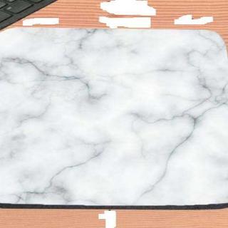 大理石柄のマウスパッド マーブル柄 22×18cm(その他)