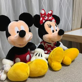 ディズニー(Disney)の【新品未使用】ミッキーミニー ペア ぬいぐるみ(ぬいぐるみ)