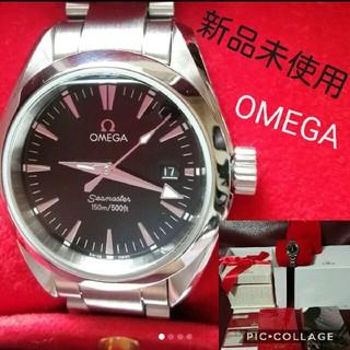 OMEGA - 新品未使用☆OMEGAの腕時計 シーマスター アクアテラ