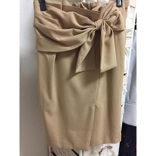 アンデミュウ(Andemiu)のアンデミュウ♡リボンスカート(ひざ丈スカート)