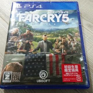 美品☆ファークライ 5  PS4 FARCRY5 特典未使用
