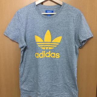 アディダス(adidas)のadidas originals Tシャツ グレー(Tシャツ/カットソー(半袖/袖なし))