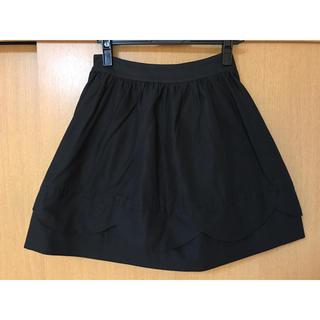 ケイトスペードニューヨーク(kate spade new york)のケイトスペード♡スカラップスカート美品(ミニスカート)