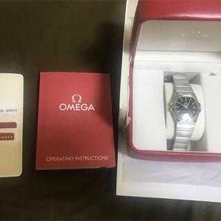 オメガ(OMEGA)のOMEGA(オメガ) 腕時計 コンステレーション  ブラック(腕時計(アナログ))