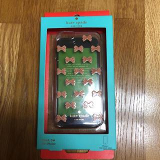 ケイトスペードニューヨーク(kate spade new york)のリボン好きには堪らない★iPhone 6.6sスケルトンケース★(iPhoneケース)