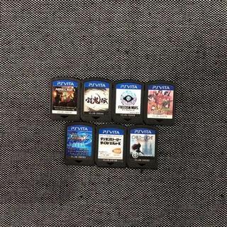 プレイステーションヴィータ(PlayStation Vita)のPSVITA ソフト セット 2(携帯用ゲームソフト)