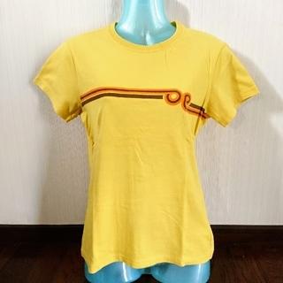 オーシャンパシフィック(OCEAN PACIFIC)のビタミンカラー 黄色 ラインTシャツ(Tシャツ(半袖/袖なし))