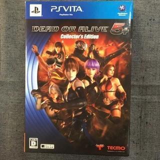 プレイステーションヴィータ(PlayStation Vita)のPSVITA DEAD OR ALIVE 5 PLUS コレクターズエディション(携帯用ゲームソフト)