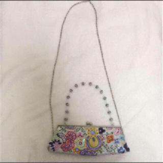 アルド(ALDO)の美品♡ALDO  ビジュー刺繍クラッチショルダーバック♡(ショルダーバッグ)