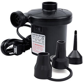 【新品・未使用】電動エアーポンプ 空気入れ コンセント式 エアコンプレッサー(メンテナンス用品)