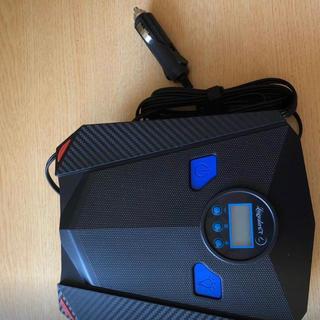 エアー電動ポンプ エアーコンプレッサー 空気圧測定 車用空気入れ(メンテナンス用品)
