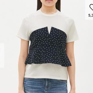 ジーユー(GU)のGU  ドット トッブス L(Tシャツ(半袖/袖なし))