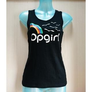 オーシャンパシフィック(OCEAN PACIFIC)のOp girl ロゴタンクトップ(タンクトップ)