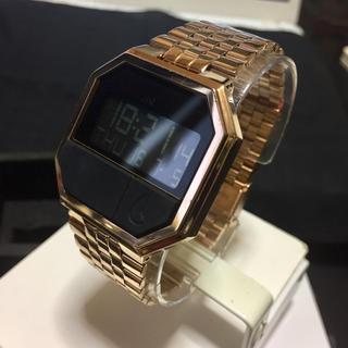 ニクソン(NIXON)のNIXON RE-RUN ROSEGOLD(腕時計(アナログ))