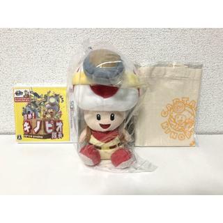 ニンテンドウ(任天堂)の進め!キノピオ隊長(3DS)+ ぬいぐるみキノピオ隊長(携帯用ゲームソフト)
